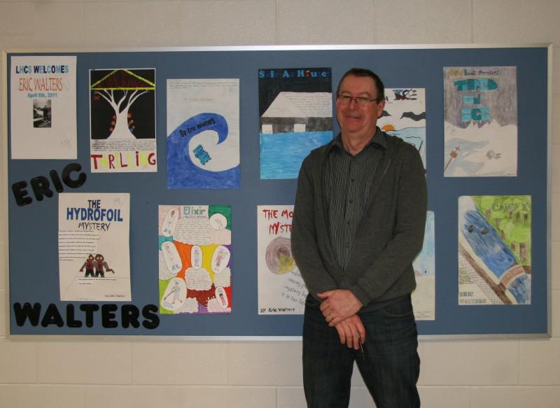 author Eric Walters