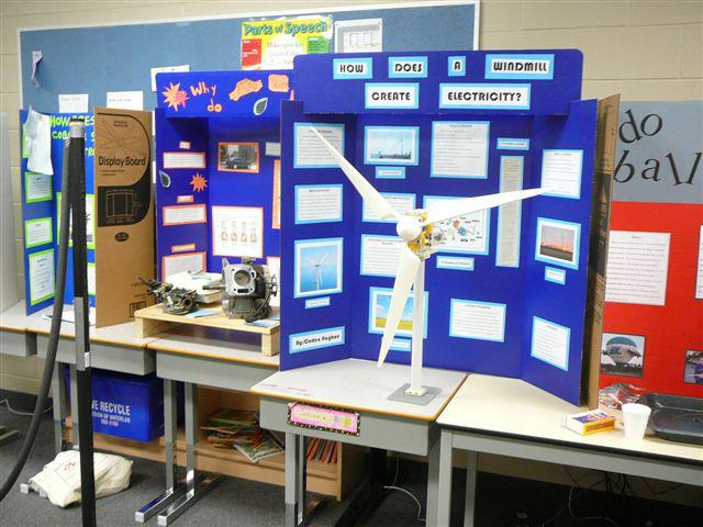 2013 science fair display