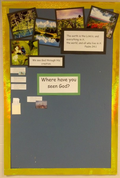 creation bulletin board